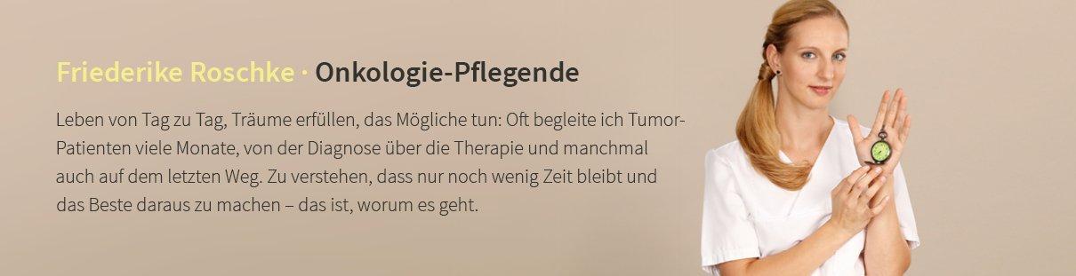 Friederike Roschke · Onkologie-Pflegende