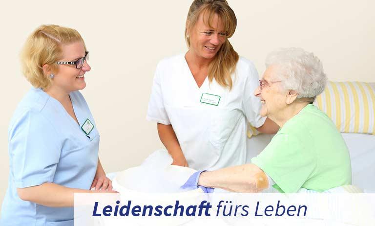 Geriatrische Pflege in der Klinik für Geriatrie