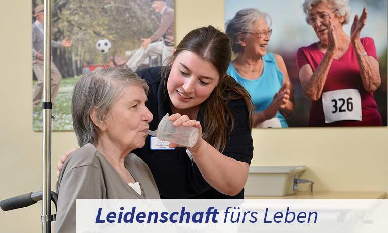 Logopädie in der Klinik für Geriatrie