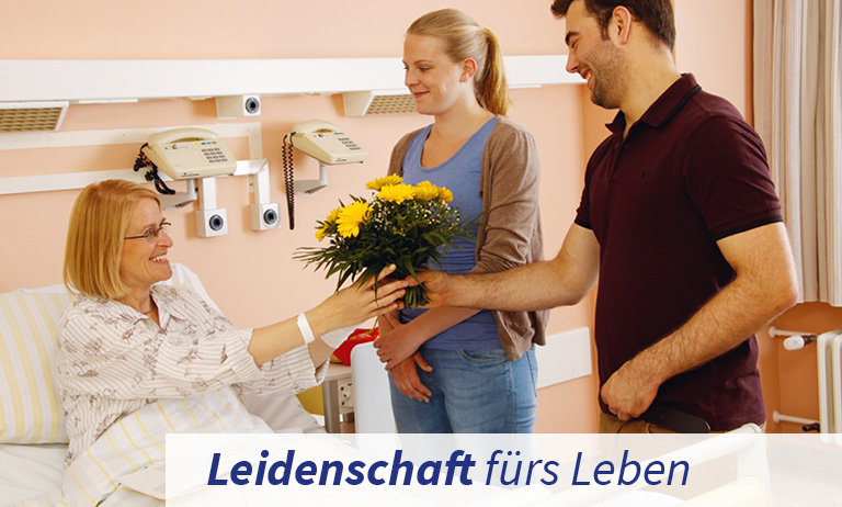 Patientenbesuche im St. Joseph Krankenhaus Berlin