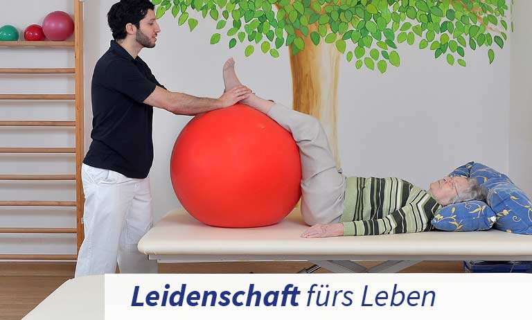 Physiotherapie in der Klinik für Geriatrie