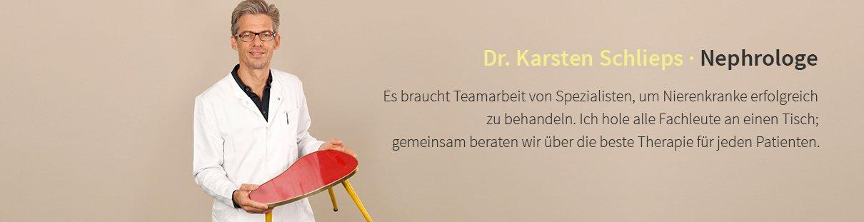 Dr. Kartsen Schlieps · Nephrologe