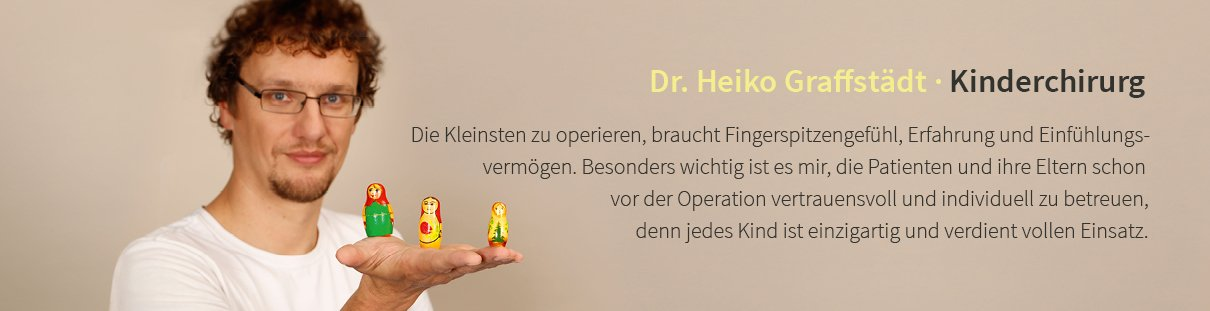 Dr. Heiko Graffstädt · Kinderchirurg