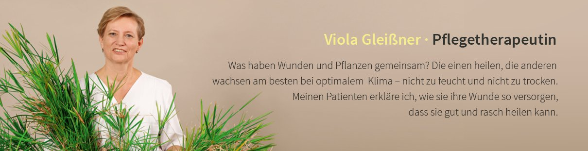 Viola Gleißner · Pflegetherapeutin