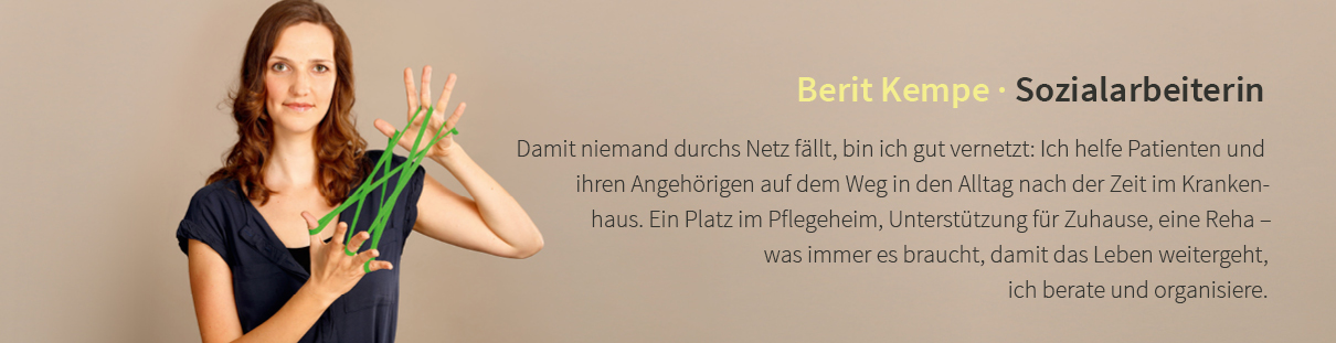 Berit Kempe · Sozialarbeiterin