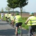 Junge Patienten unterwegs mit dem Rad in Berlin und Umland