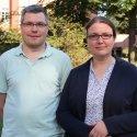 Die neuen Seelsorger Marc Teuber und Sabine Friedrich