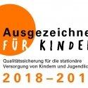 Zertifikat »Ausgezeichnet für Kinder«