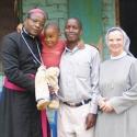 Schwestern der Ordensgemeinschaft von der heiligen Elisabeth unterstützen das Gesundheitszentrum in Tansania.