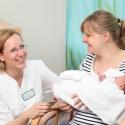 Oberste Maxime in der Klinik für Geburtshilfe - natürliche Bindung von Anfang an fördern