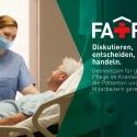 Kampagnenmotiv der Deutschen Krankenhausgesellschaft.