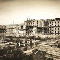 Die Baustelle des St. Joseph Krankenhauses vor 85 Jahren