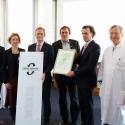 Verleihung des Gütesiegels energiesparendes Krankenhaus