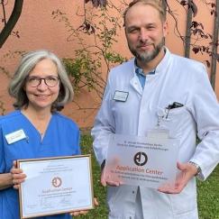 Dr. Elke Johnen und Dr. Sebastian Metzlaff