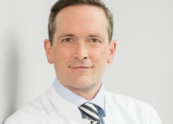 Prof. Dr. Jörn Gröne, Chefarzt der Klinik für Allgemein- und Viszeralchirurgie