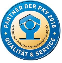 PKV-Siegel für gute Behandlungsqualität