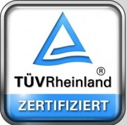 Akut-Schmerztherapie durch den TÜV-Rheinland bestätigt