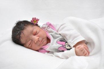 Alissa Naima ist das 3.000 Baby im St. Joseph Krankenhaus in diesem Jahr