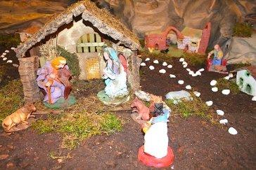Weihnachtskrippe im St. Joseph Krankenhaus